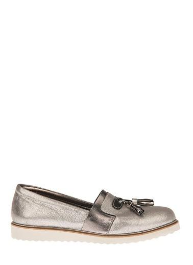 Uniquer Ayakkabı Gümüş